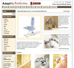AdaptMy.com Room View - 1st Level Category