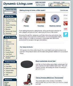 Dynamic-Living.com Home Page