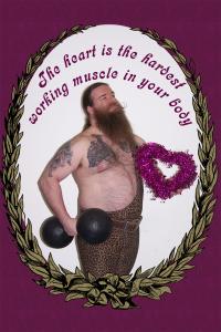 Heart Valentine (4x6 Postcard)