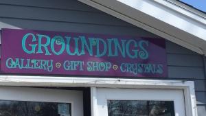 Sign for Brick & Mortar Shop